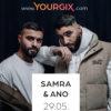 Gewinne Tickets für das Streaming-Konzert von Samra und Ano am Samstag
