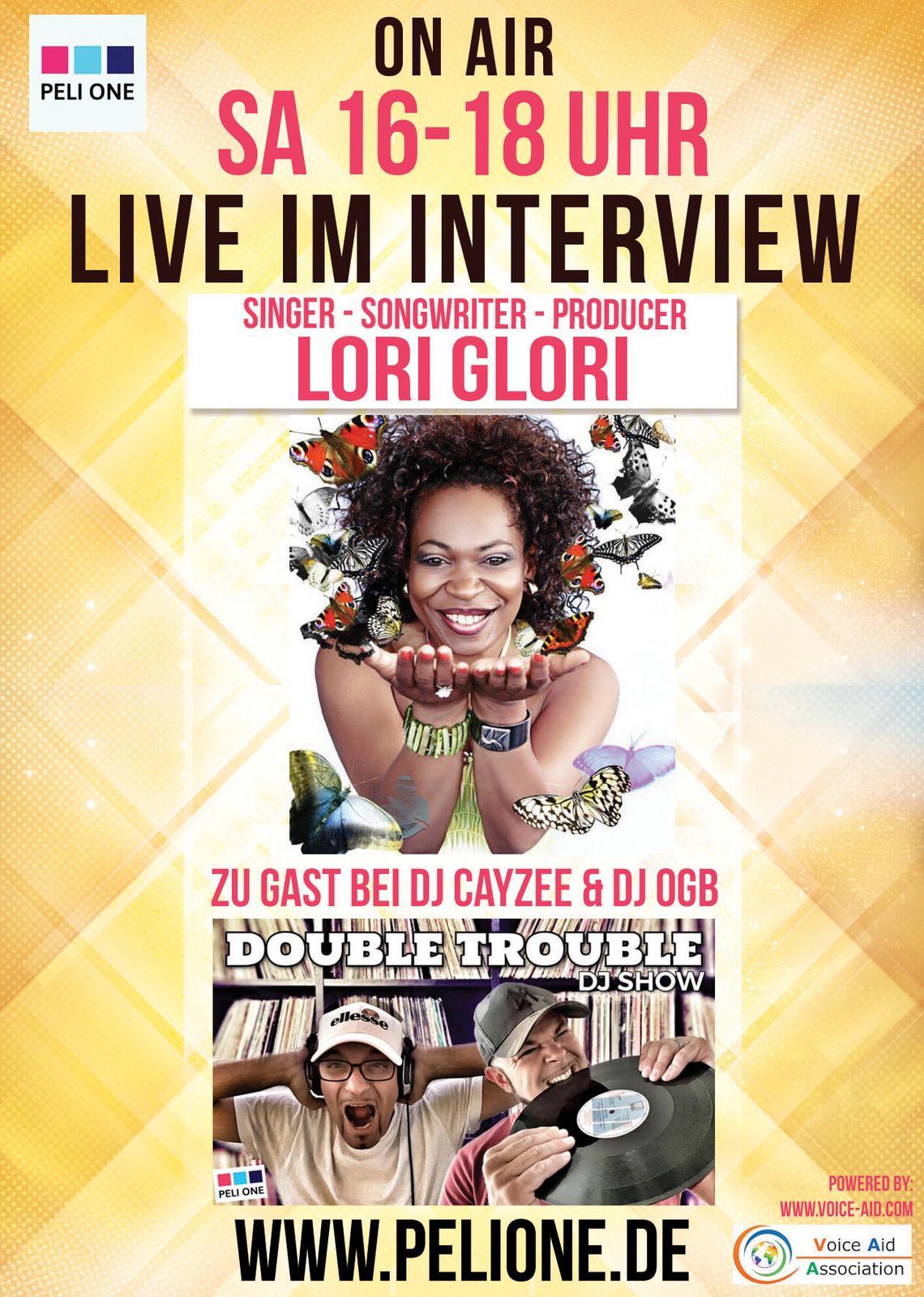 LORI GLORI LIVE @ DOUBLE TROUBLE DJ SHOW